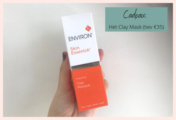 Cadeau_ Het Clay Mask van Environ huidverzorging (twv €35)